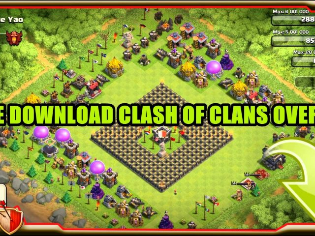 [FREE] Twitch Overlay CLASH OF CLANS : [ PNG ] free download