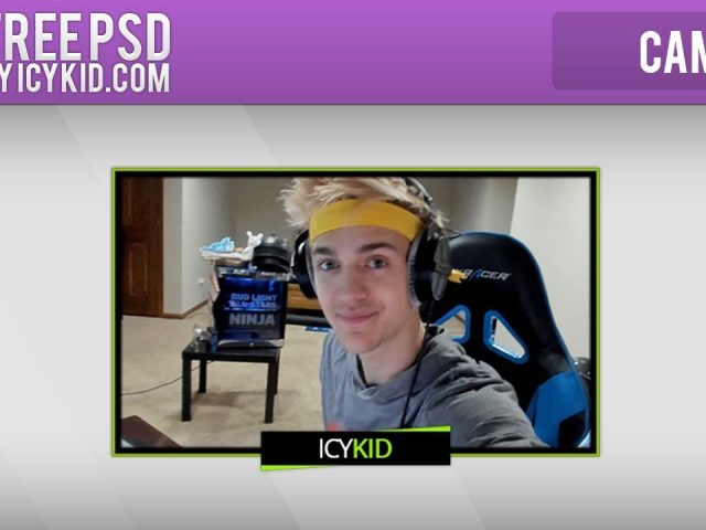 Free Twitch Overlay Template – Stream Poison cam – PSD – Free Download