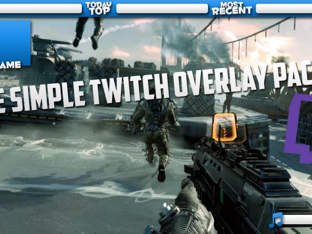Simple Twitch Overlay Pack #1 [Free]