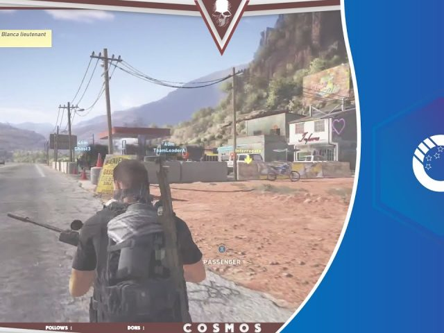 Overlay Twitch Ghost Recon Wildlands  | PSD 100% Editable | Free Download