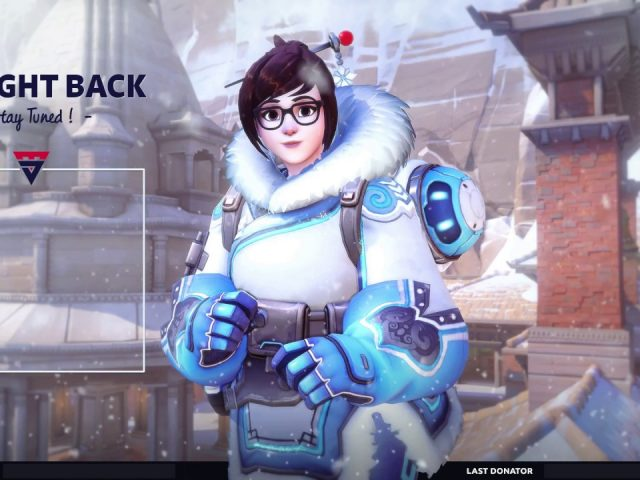 Animated Twitch Overlay – Starting screen Overwatch  : Mei !!