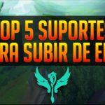TOP 5 MELHORES SUPORTES PARA SUBIR DE ELO!! APRENDA O QUE ESCOLHER NA HORA DA RANKED!!