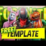 Ps Touch|Free Fornite Thumbnail Template Giveaway! + Edit!