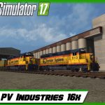 Farming Simulator 17 -Testing PV Industries 16x !!