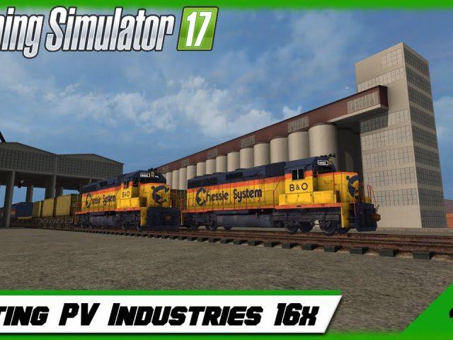 Farming Simulator 17 -Testing PV Industries 16x !!