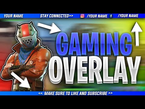 HOW TO MAKE A HORIZONTAL GAMPLAY OVERLAY FOR (FORTNITE,PUBG) IN ANDROID!!!