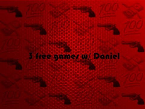 3 free games (really 2 free games) w/ me!!!