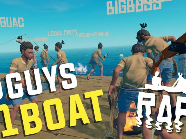 Raft – 8 GUYS, 1 BOAT – feat. GuacamoleJones & Modgey