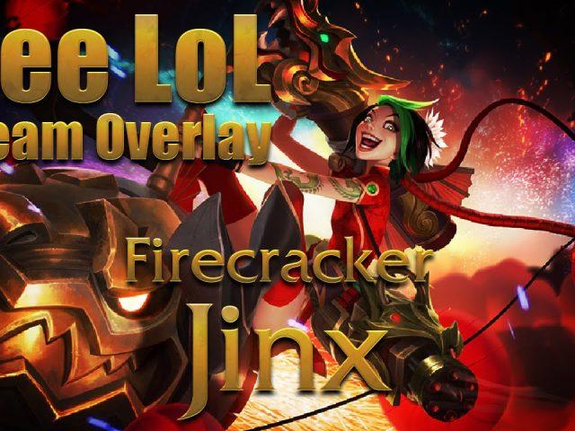 Free Firecracker Jinx Stream Overlay