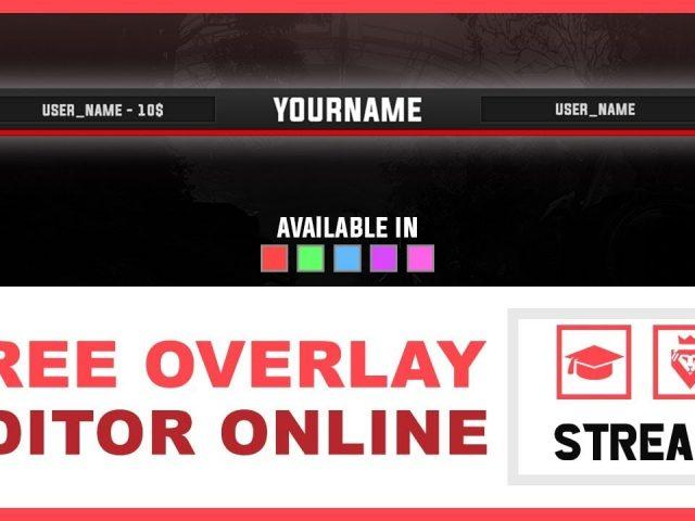 Stream Overlay – Minimalist Bar | FREE (TUTORIAL – how to edit)