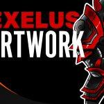 Speed Painting | @Exelus | YouTube & Twitch Design [Speedpainting]