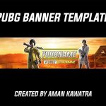PUBG Banner Template | Speedart #8 (FREE DOWNLOAD)