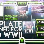 Photoshop Template – Ultimate Live Stream Overlay Template Pack – Call of Duty World War 2