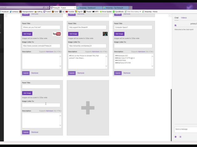 How to get a Donate Button on Twitch Using Streamtip!!