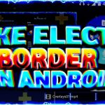 HOW TO MAKE ELECTRIC BORDER OVERLAY ON YOUR VIDEOS FOR FREE ON ANDROID