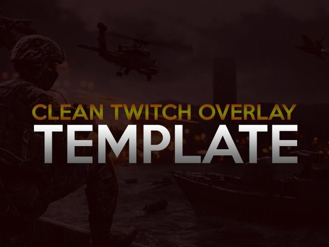 Free twitch pack template!!