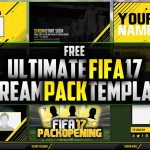 FREE FIFA17 Stream Pack Template | Photoshop CC | Seangraphicx