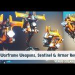 Warframe: Brand New Weapons, Sentinel & Armor Revealed! Tennocon 2018