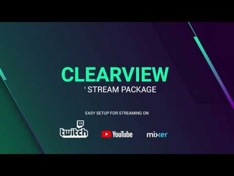 Clearview – Premium and Free Twitch Overlay
