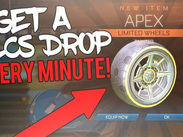 How To Get A PAINTED RLCS Drop In Under 1 MINUTE! *FREE PAINTED APEX* Rocket League