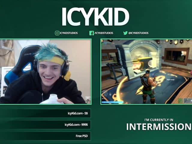 Free Twitch Overlay Template – Glimmer Intermission – PSD – Free Download