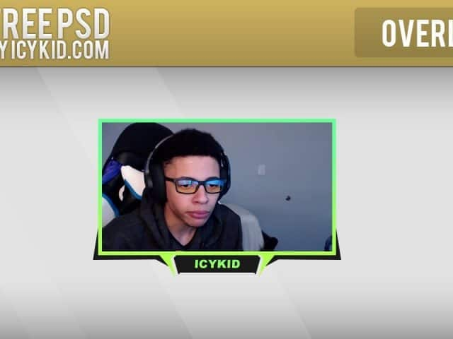 Free Twitch Overlay Template – Green Revival Cam – PSD – Free Download