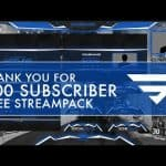 200 Sub Stream Pack for Twitch | Free Download