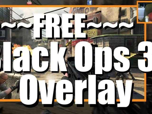 Black Ops 3 Twitch Overlay | FREE and Cusomizable
