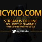 Free Twitch Banner Template - Offline Stream Golden PUBG - PSD - Free Download