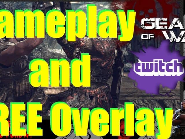 Free Twitch Overlay and Gameplay | Gears of War Ultimate Edition