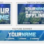 Fortnite (Rebrand) (Youtube Banner, Logo, Twitch Offline - Templates) + TUTORIAL (how to edit)