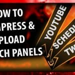 FREE TWITCH GRAPHICS PACK + HOW TO COMPRESS TWITCH PANELS TO BE UNDER 1MB