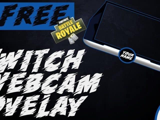 """FREE"" Fortnite  twitch webkam OVERLAY"
