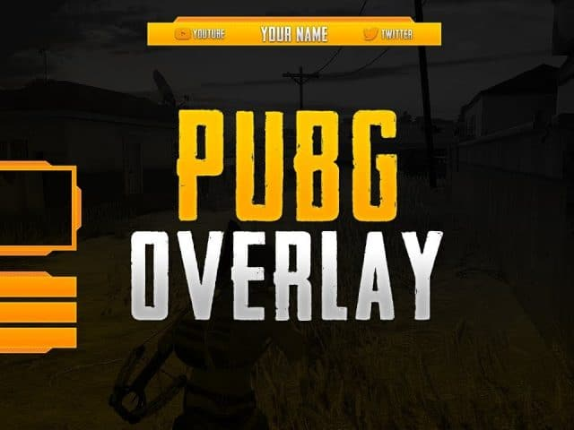 FREE TWITCH PUBG OVERLAY TEMPLATE | + DOWNLOAD | Photoshop CC/CS6