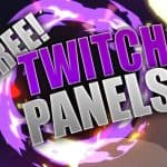 """SPACE THEME"" FREE TWITCH PANELS 