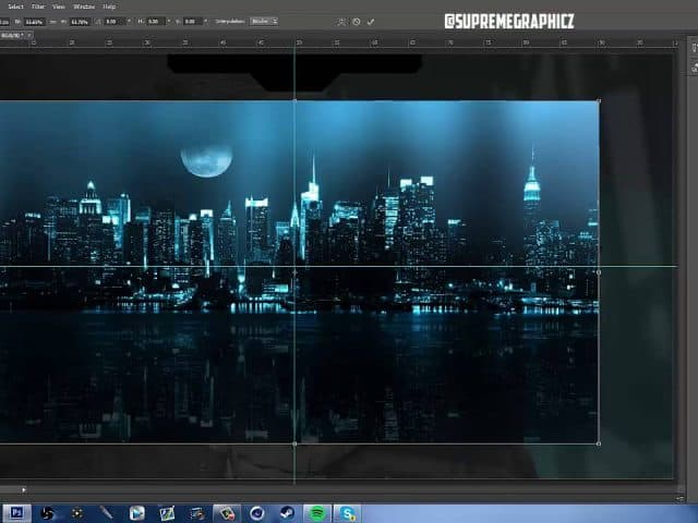 [How to GFX] Twitch/Youtube Overlay! FREE Follow Along Photoshop Tutorial! Templates! Free Designs!