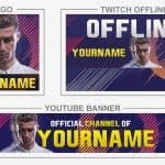 FIFA 18 - Rebrand (Youtube Banner, Logo, Twitch Offline - Templates) + TUTORIAL (how to edit)