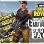 Fortnite Battle Royale Twitch Panels | FREE DOWNLOAD