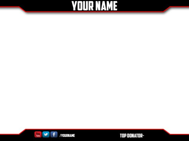Free Twitch Stream Overlay made by Eatonn