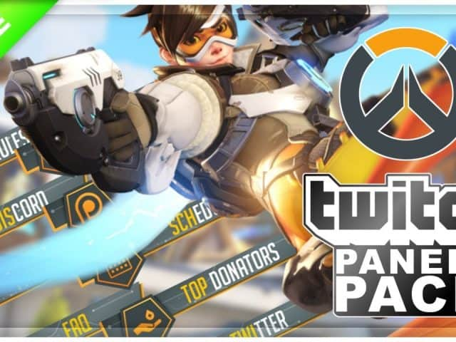 Overwatch Twitch Panels | FREE DOWNLOAD