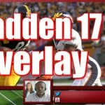 Free Madden 17 Overlay for Twitch and YouTube  | Customization Tutorial