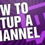 How To Setup a Twitch.Tv Channel in 2017! Create a  Donation link and Panel Buttons EASY!