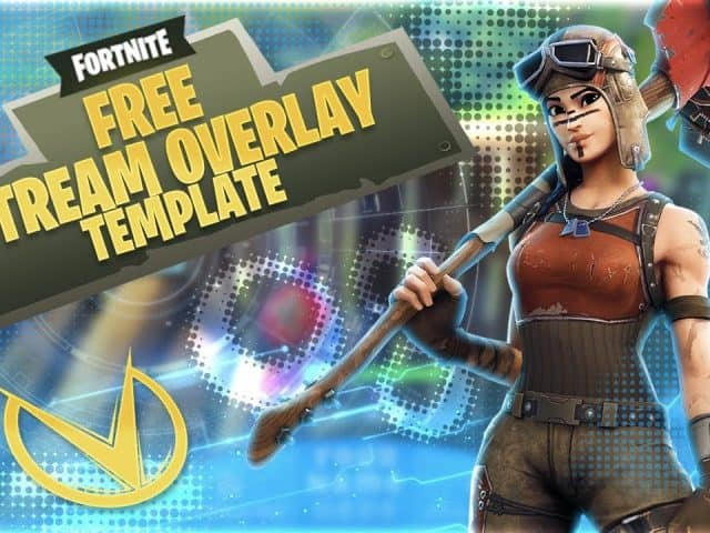 FREE FORTNITE TWITCH OVERLAY TEMPLATE!!!!!!!!!!!!!!
