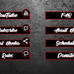 FREE Simple Twitch Panels with PSD!