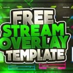 Free Twitch Overlay template #62 | GFX | Seangraphicx
