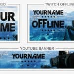 FarCry5 (Rebrand) (Youtube Banner, Logo, Twitch Offline – Templates) + TUTORIAL (how to edit)