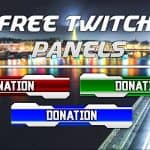 *FREE* Futuristic Twitch Panels, and fully customizable. Link in description.