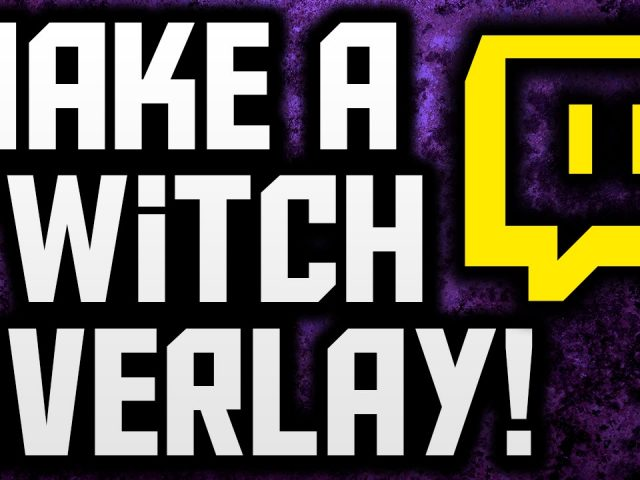 How To Make A Twitch Overlay With Photoshop! (Stream Overlay Tutorial)