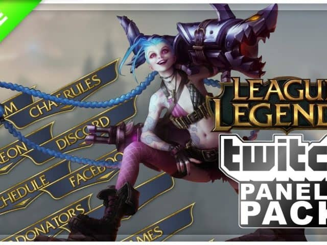 League of Legend Twitch Panels | FREE DOWNLOAD