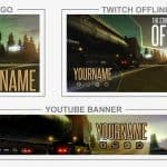 ETS2 Rebrand (Youtube Banner, Logo, Twitch Offline - Templates) + TUTORIAL (how to edit)